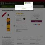 Johnnie Walker Black Label Scotch Whisky 700mL $41.90, Johnnie Walker Gold Label Reserve  700mL $68.80 @ Dan Murphy's