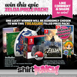 Win a Zelda Prize Pack from ShirtPunch
