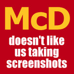 $1 Large Thickshake @ McDonald's via The App