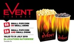 $5 Popcorn or $8 Combo for Event Cinemas @ Groupon