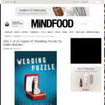 Win 1 of 10 Copies of 'Wedding Puzzle' by Sallie Muirden Worth $29.95 from MiNDFOOD
