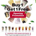 [WA] Buy 1, Get 1 Free (Top Ten Only) @ Gong Cha Tea, Warwick
