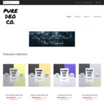 Buy 1, Get 1 Free @ Pure Deo Co