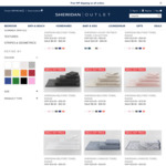$10 off for New Customers + Free Shipping Storewide e.g. Free Hand Towel Delivered @ Sheridan Outlet