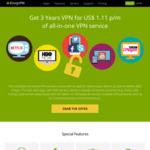 Zoogvpn Premium Plans 90% off for a 3 Year Premium Global VPN Plan, Now AU $1.61/MO (Was AU $18.33/MO)