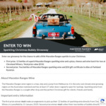 12 Bubbles of Christmas Giveaway from Visit Maedon Ranges