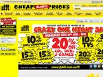 JB Hi-Fi Crazy One Night Sale, 27 July 6-9pm, 10-30% off