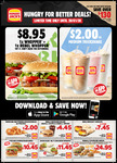 Hungry Jack's Vouchers (Valid until 20th January 2020)