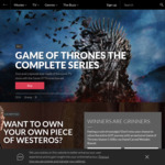 Win a Game of Thrones S1-8 DVD Hand Carved Wooden Box Set Worth $500 from Roadshow