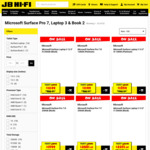 15-20% off Microsoft Surface Pro 7, Laptop 3 and Book 2 @ JB Hi-Fi