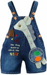 Baby Denim Short Overalls 12-28 Months $11.30 + Delivery (Free with Prime) @ Amazon US via AU