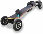 Onlyone O-5 Dual Belt Driven All Terrain E-Skateboard: US $899 (~AU $1290) Shipped from China @ Onlyoneboard