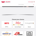 Hoyts Movie Vouchers $10 via Westpac Rewards (Plus 1.5% Processing Fee, Not Valid on Sat/Sun after 2pm or Public Holidays)