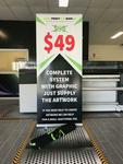 Pull up Banner Stands Complete with Print, System and Carry Bag - 2 for $95 (Was $198) + Shipping @ Easy Print and Sign Co