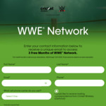 Free 3 Month Trial of WWE Network (New / Non-Active Subscribers)