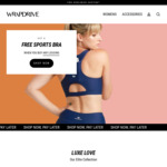 Free Sports Bra with Any Legging Purchase (from $79) + $10 Gift Card @ Wrapdrive