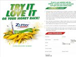 Zyrtec Hayfever Tablets 'Love It Or Your Money Back' Promotion