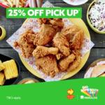 [WA] 25% off Pick Up Orders @ Chicken Treat via Menulog