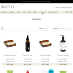 Clearance Items from $3 (Free Shipping for Orders over $25, Otherwise $9.90) @ Natio