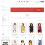 Take a Further 50% off Sale Styles Mens and Ladies @ Jeanswest