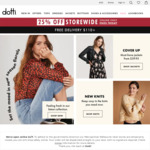 25% off Everything + Delivery (Free over $110) @ Dotti (Online Only)
