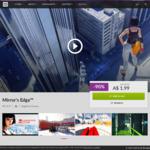 [PC] Mirror's Edge for $1.99 @ GOG.com