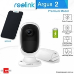 Reolink Argus 2 Security Wi-Fi IP Camera with Bonus Solar Panel  $109.95 + Delivery @ Shopping Square