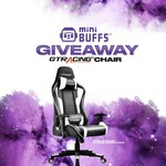 Win a GTRACING Gaming Chair from miniBUFFS
