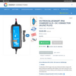 Victron Bluesmart IP65 Charger 12V/5A $110 Delivered (RRP $140) @ Energy Connections