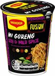 Maggi Fusian Noodle Cup Mi Goreng Varieties 64g $1 / $0.90 (S&S) + Delivery ($0 with Prime/ $39 Spend) Min Order 5 @ Amazon AU