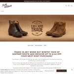 Up To $150 Trade-in on Your Old Boots @ R.M. Williams (in-Store Only)