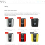 Hot and Cold Bench Top Water Dispenser, Save $500, BIBO Water Bar $996 Delivered (RRP $1496) @ BIBO
