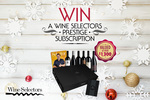 Win 1 of 4 Wine Selectors Annual Subscriptions Worth $1,620 from Harbour Radio/4BC/3AW6PR