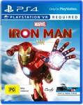 [PS4, PSVR] Iron Man VR - $20 @ Big W