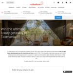 Win a 2N Luxury Glamping Experience in Tasmania Worth $1,590 from RedBalloon