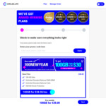Circles.life SIM Only Plans - 100GB for $28 per Month for First 12 Months + Free Express Shipping