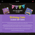Win 1 of 10 $250 Product Packs or 1 of 5,000 Aussie Oat Bar Prizes from Carman's Kitchen