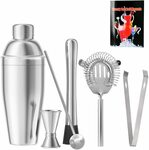 Cocktail Shaker Set 6pc $25.89 (Was $36.99) + Delivery ($0 with Prime/ $39 Spend) @ CLOWII via Amazon AU