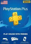 US PlayStation Plus 12-Month Membership Digital Code A$31.53 @ Game Over, Eneba
