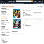 [Back Order] Cowboy Bebop Remastered Sessions 1 & 2 Blu-Ray $22.74 Each + Delivery ($0 with Prime/ $39 Spend) @ Amazon AU