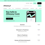 Increased Referral Bonus: $30 off Next Eligible Purchase of $50 or More @ AfterPay