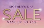 Up to 75% off + 6% Cashback via Cashrewards @ Shaver Shop