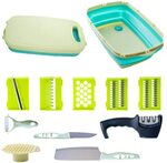 11-in-1 Chopping & Cutting Board with Bonus Knife Sharpener - $31.99 Delivered @ Worshopping via Amazon AU