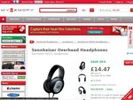 Genuine Sennheiser HD 201 Headphones - $23.15 AUD Delivered