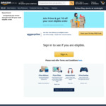 Join Prime & Receive $10 off $29+ Spend on Items Sold by Amazon AU
