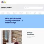 List & Sell 2 Items Free Each Month on eBay (via Gumtree)