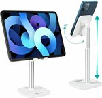 CHOETECH Phone Adjustable Tablet Stand on Desk $20.39 + Delivery ($0 Prime/ $39 Spend) @ CHOETECH-Direct via Amazon AU