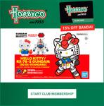 Save 15% BANDAI, 20% on BRIO, Thomas & Friends, 10% on LEGO, Tools, Model Kits, STEM, Monopoly (Membership Required) @ Hobbyco