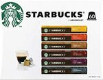Starbucks by Nespresso Coffee Pods 10-Pack $4.80 ($4.32 S&S) + Delivery ($0 with Prime/ $39 Spend) @ Amazon AU