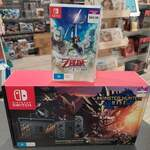 Nintendo Switch Console Monster Hunter Rise Edition + Zelda Skyward Sword HD $549.99 Delivered @ Gametraders Rouse Hill